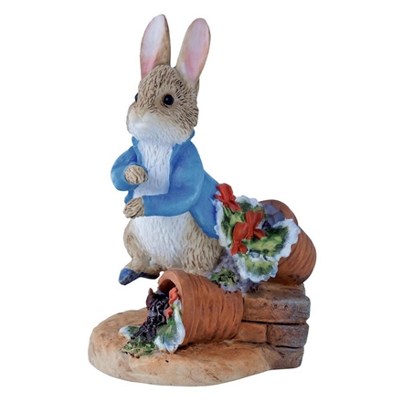 Peter Rabbit with Plant Pot