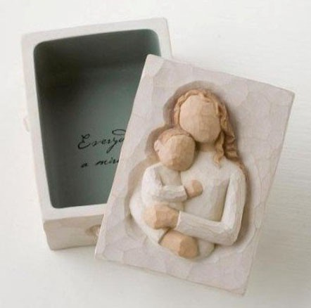 WT Mother & Child Keepsake Box