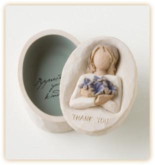 WT Thank You Keepsake Box